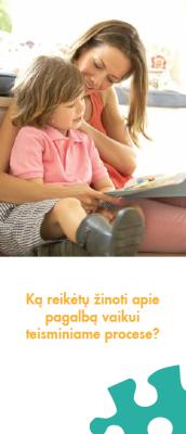 Ką reikėtų žinoti apie pagalbą vaikui teisminiame procese